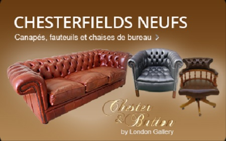 fauteuil occasion chesterfield