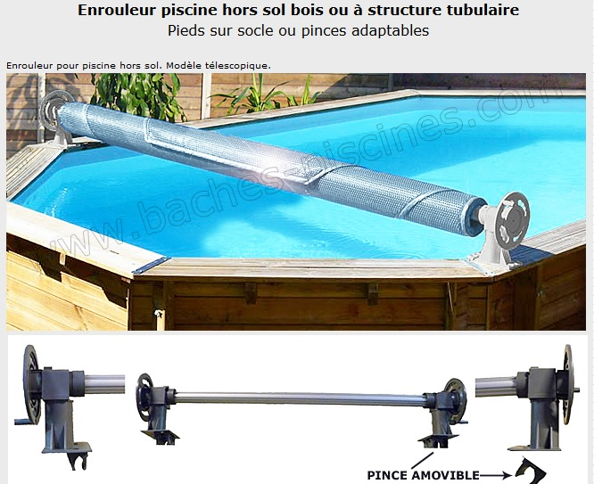 Baches enrouleurs et accessoires de piscine infos des for Bache pour grand bassin