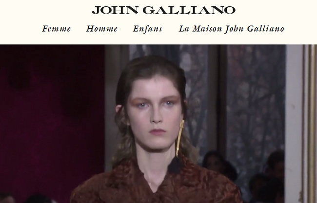 caban john galliano