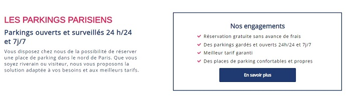 parking pas cher paris 18